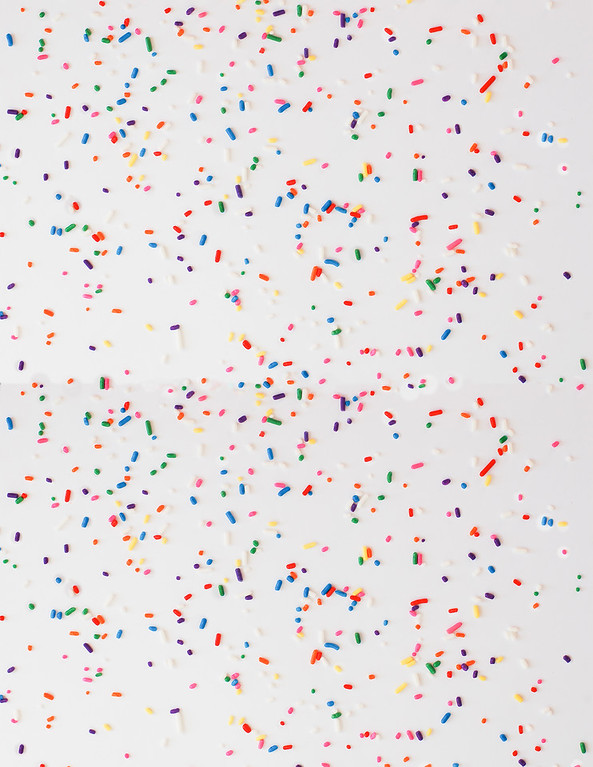 sprinkles scrapbook paper