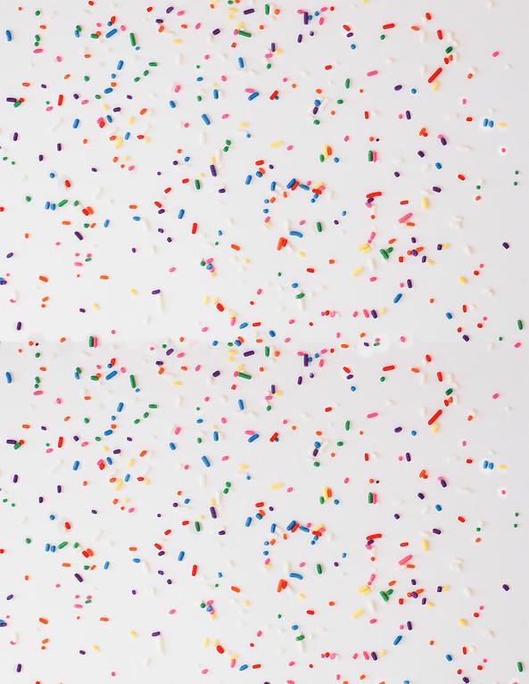 sprinkles scrapbook paper